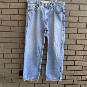 Vintage Levi's 550 High Waist Relaxed Fit Jeans